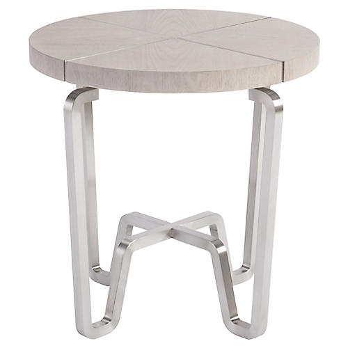 Chatham Side Table, Mist Gray