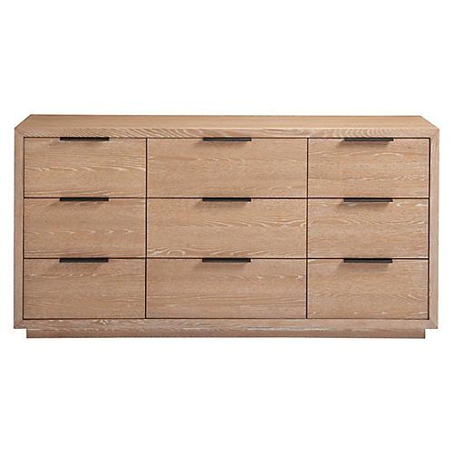 Payson 9-Drawer Dresser, Sand