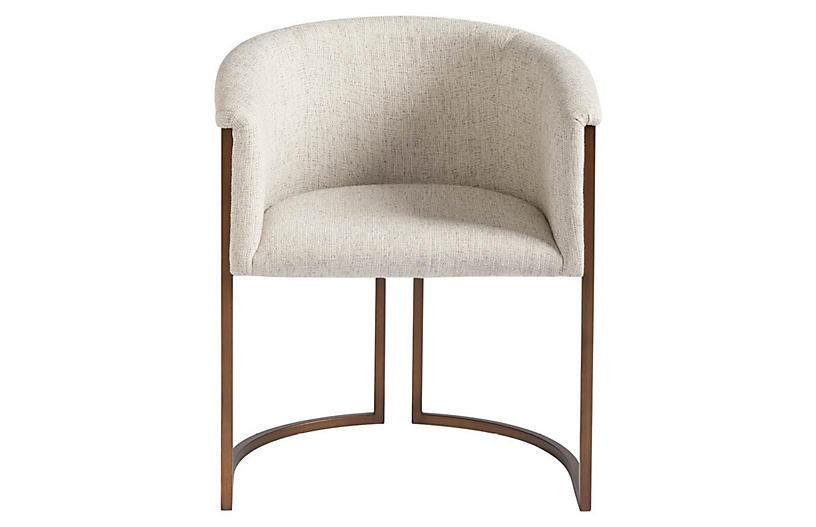 Goshen Armchair, Beige