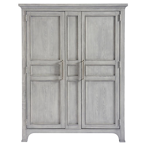 Chatham Armoire, Gray