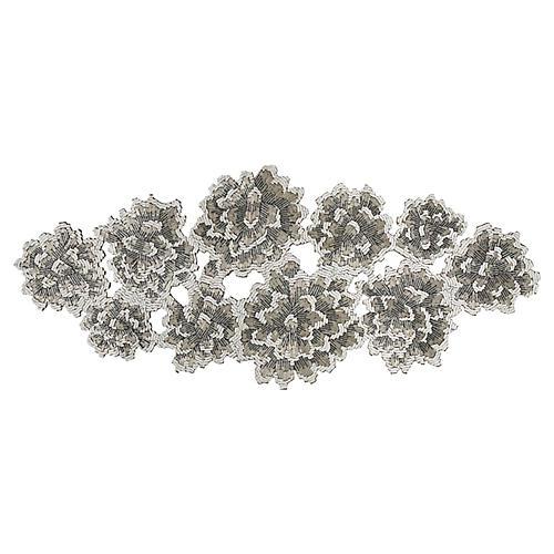 Bloom Runner, Ivory/Gray