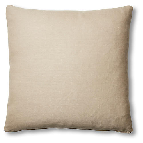 Hazel Pillow, Dune Linen