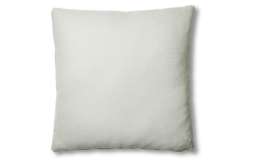 Hazel Pillow, Sea Glass Linen