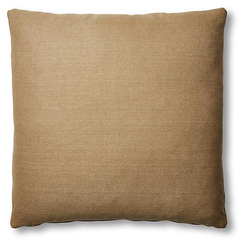 Hazel Pillow, English Green Linen