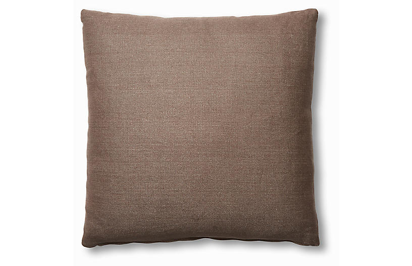 Hazel Pillow, Earth Linen