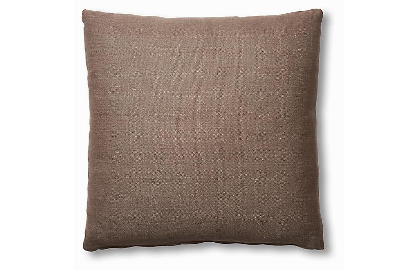 Hazel Pillow, Earth Linen