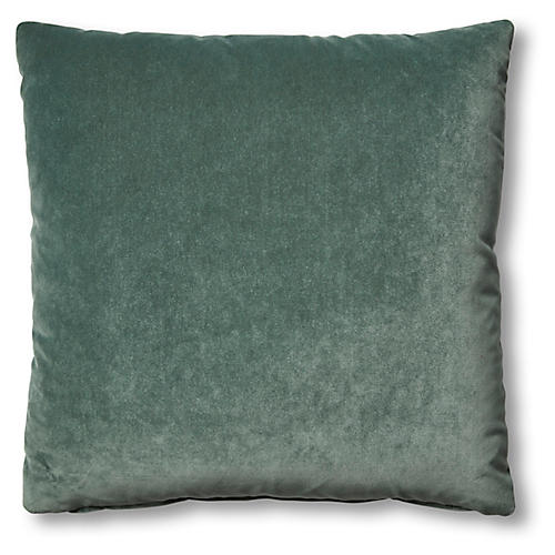 Hazel Pillow, Jade Velvet