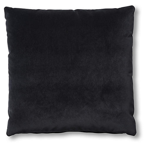 Hazel Pillow, Ebony Velvet