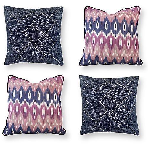 Ruth Pillow Bundle, Global Indigo/Purple