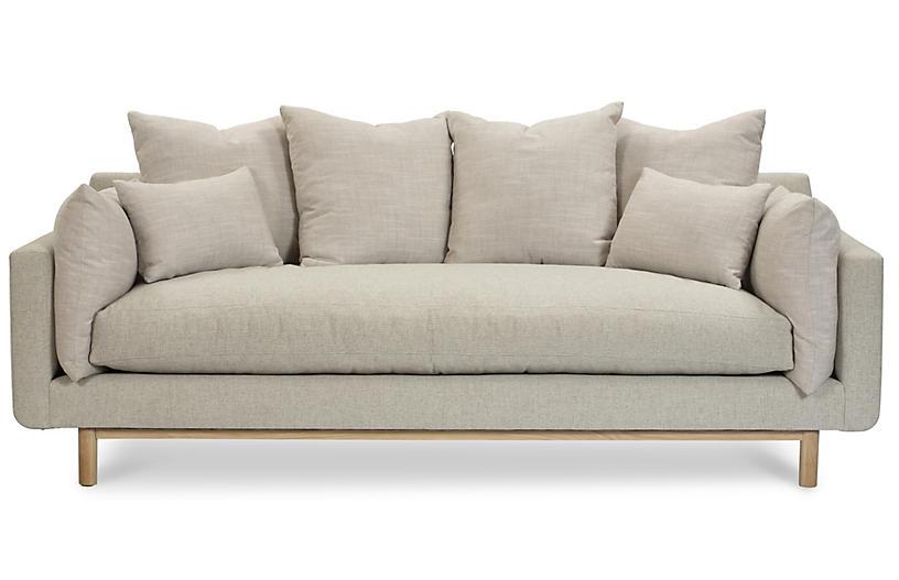 Sawyer Sofa, Light Gray