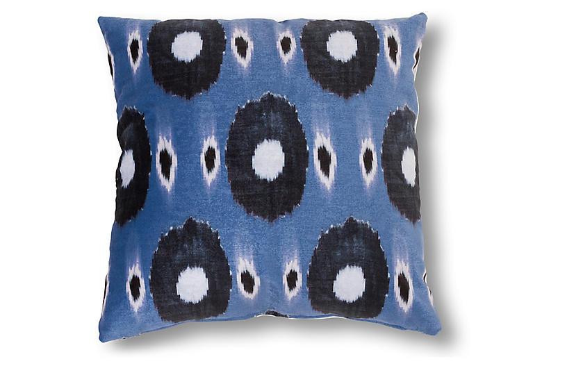 Annika 20x20 Pillow, Blue