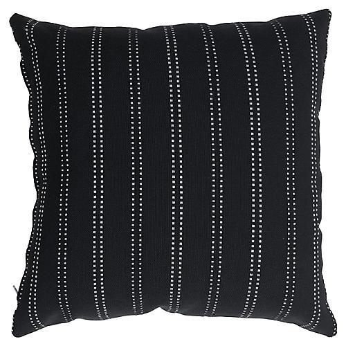 Mia 20x20 Pillow, Black