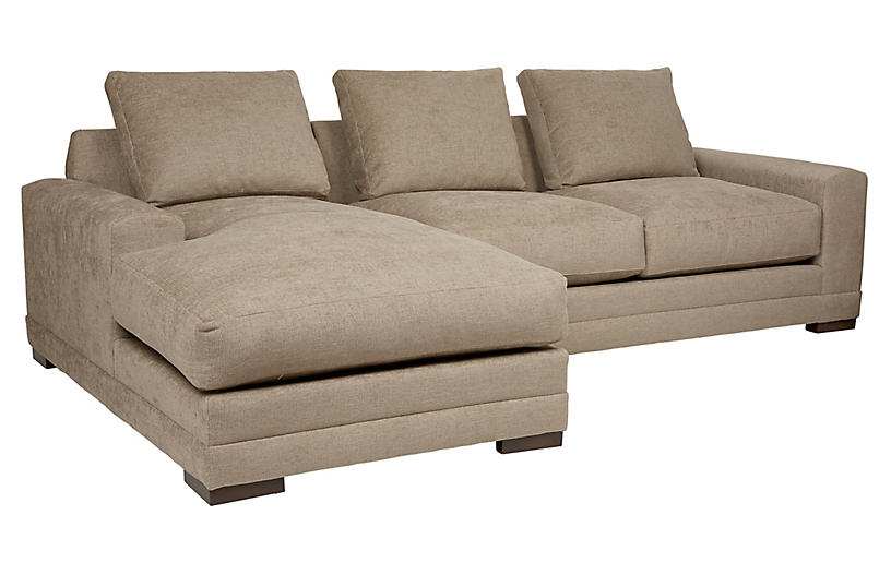Morris Crypton LF Sectional