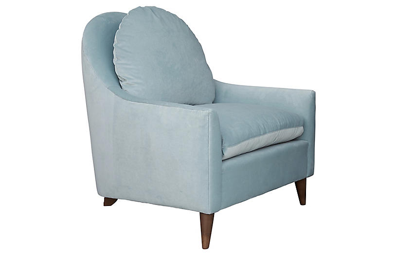 Lowell Velvet Chair