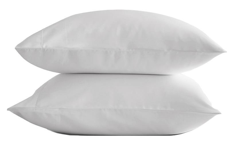 Eucalyptus Pillowcase Set, Snow