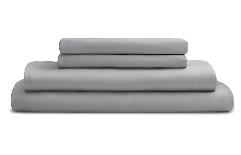 Eucalyptus Sheet Set, Dove