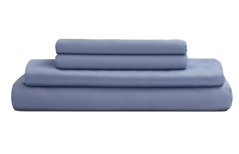 Eucalyptus Sheet Set, Sky