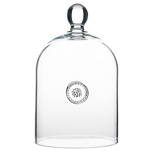 Berry & Thread Cloche, Clear