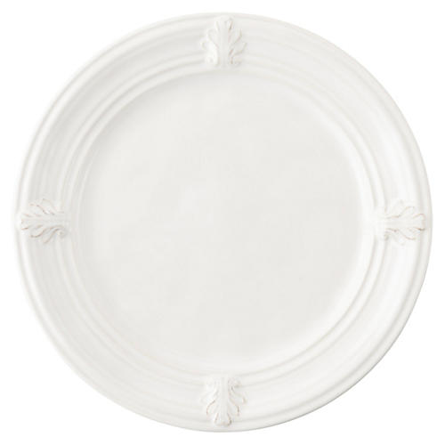 Acanthus Dessert Plate, White