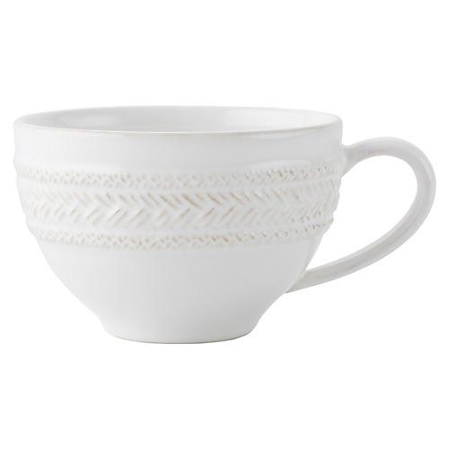 Le Panier Teacup, White