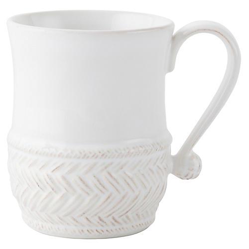 Le Panier Coffee Mug, White