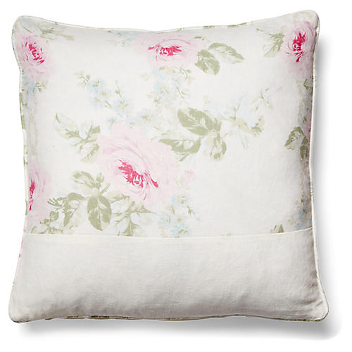 Royal Pillow, Ivory Linen