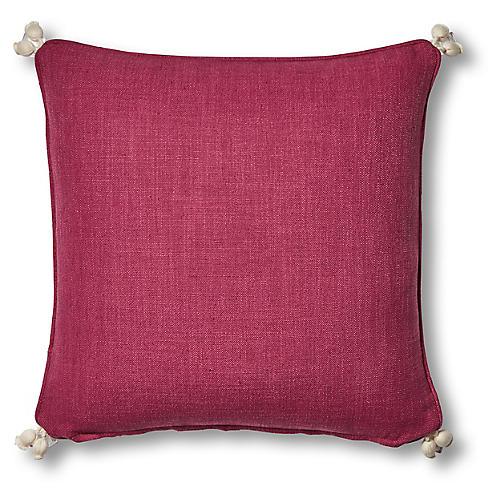 Rima 20x20 Pillow, Hibiscus