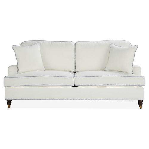 Bradley Sofa, Blue