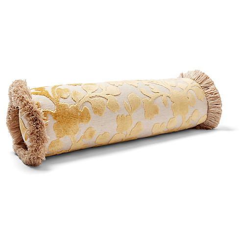 Mildred 7x20 Bolster Pillow, Citrine