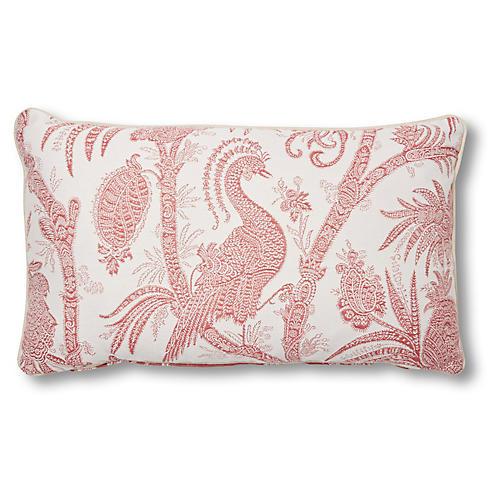Harlow 12x23 Lumbar Pillow, Cassis