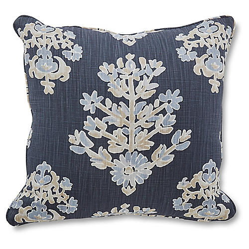 Walton 18x18 Pillow, Indigo