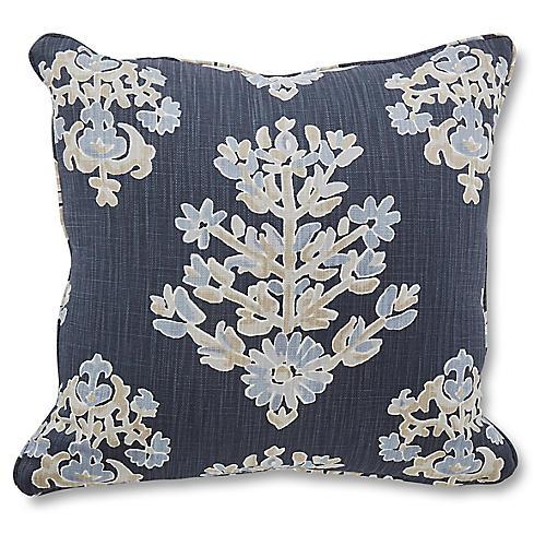 Walton 18x18 Pillow, Indigo