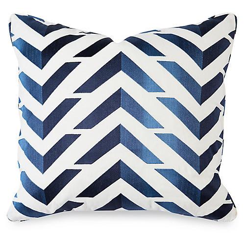 Leonora 20x20 Pillow, Royal Linen