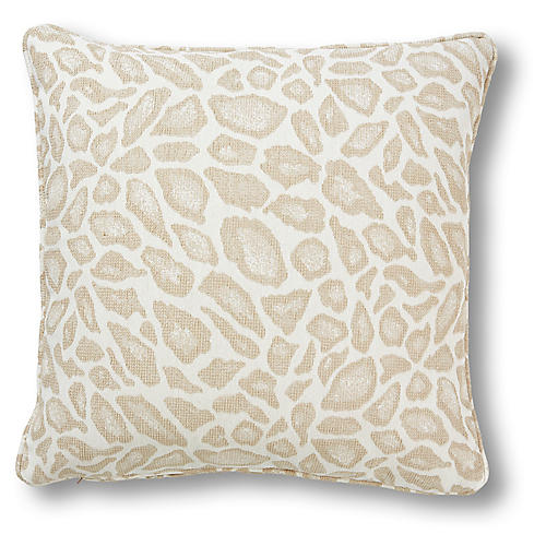 Whitney 20x20 Pillow, Parchment