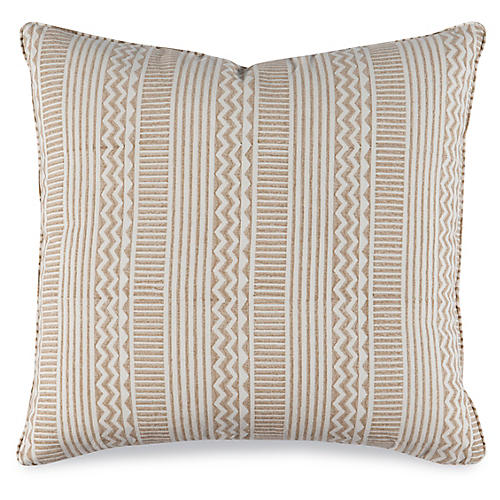 Miranda 20x20 Pillow, Stone