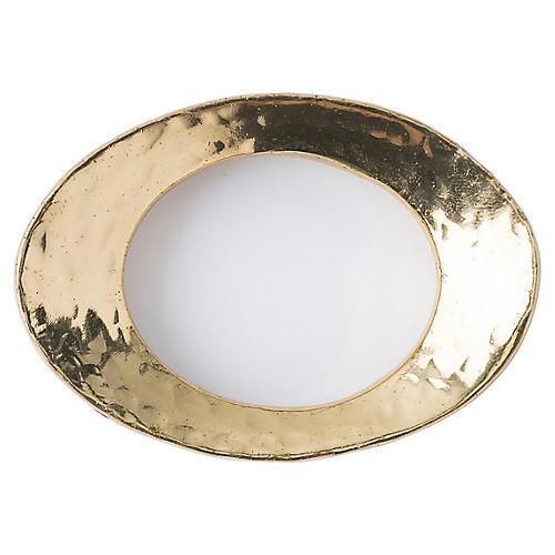 Puro Napkin Ring, Gold