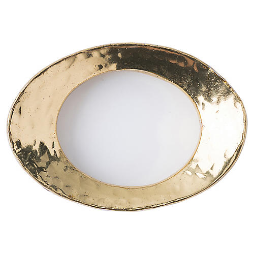 Puro Napkin Ring, Gold
