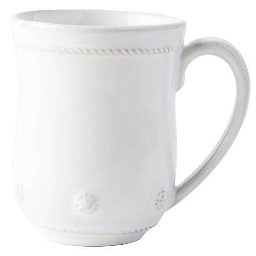 Berry & Thread Mug, Whitewash