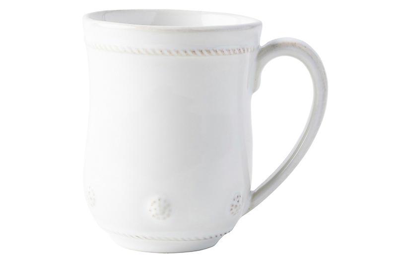 Berry & Thread Mug, Whitewash
