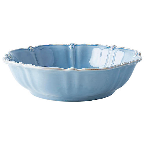 Berry & Thread Bowl, Chambray