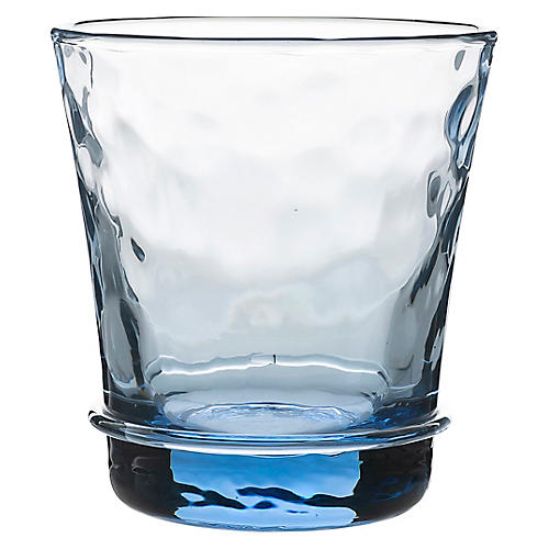 Carine Tumbler, Clear/Blue