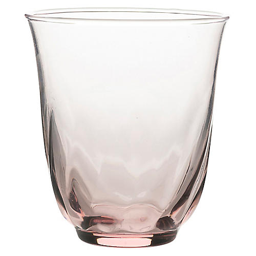 Vienne Tumbler, Pink/Clear
