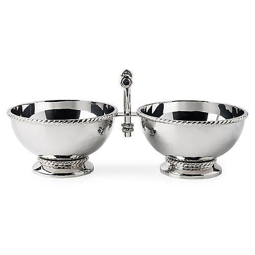 Graham Cocktail Bowl, Silver