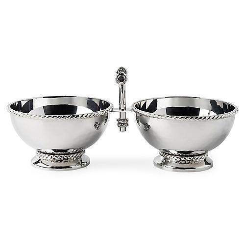 Graham Cocktail Bowl, Silver