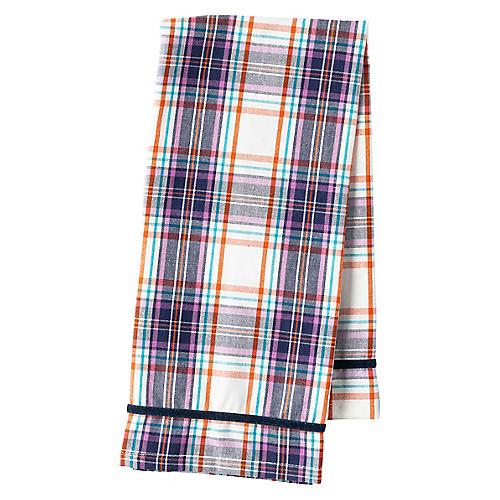 Alpine Tea Towel, Blue/Multi
