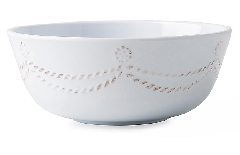 Berry & Thread Melamine Cereal Bowl, White
