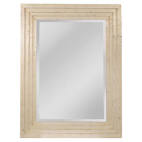 Davis Wall Mirror, Beige