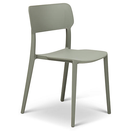 Luana Side Chair, Moss