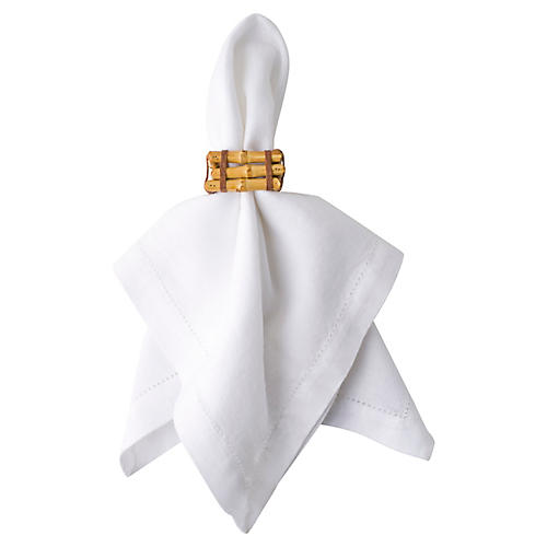 Classic Bamboo Napkin Ring, Natural