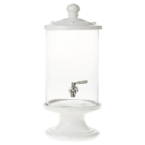 Berry & Thread Beverage Dispenser, White